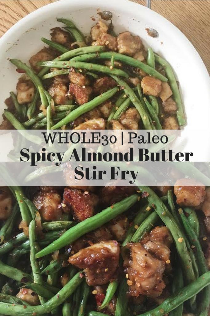Spicy Almond Butter Stir Fry