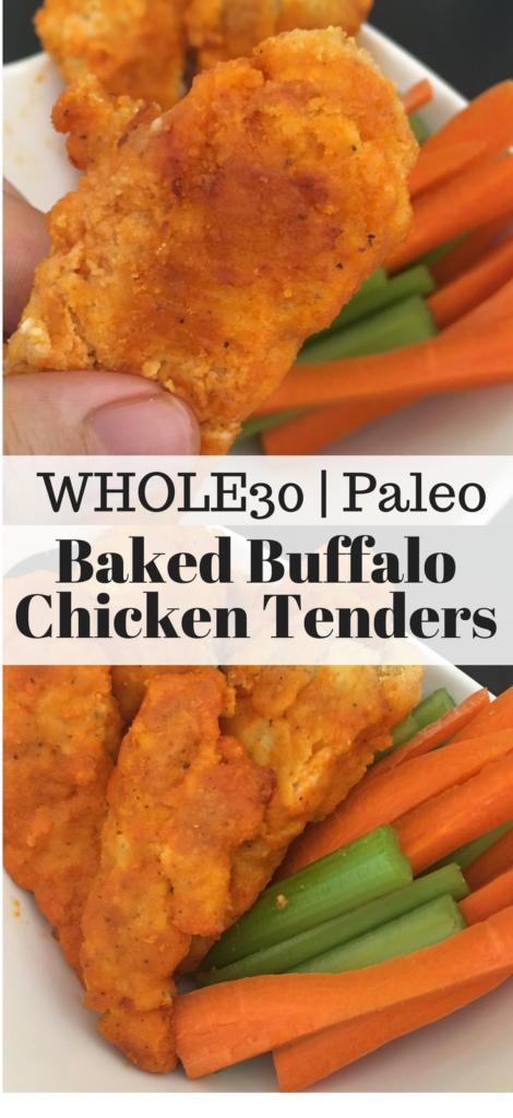 Paleo Buffalo Chicken Tenders