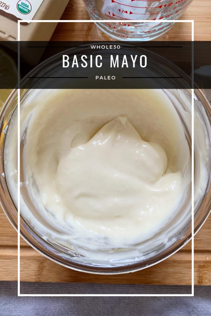 basic mayo