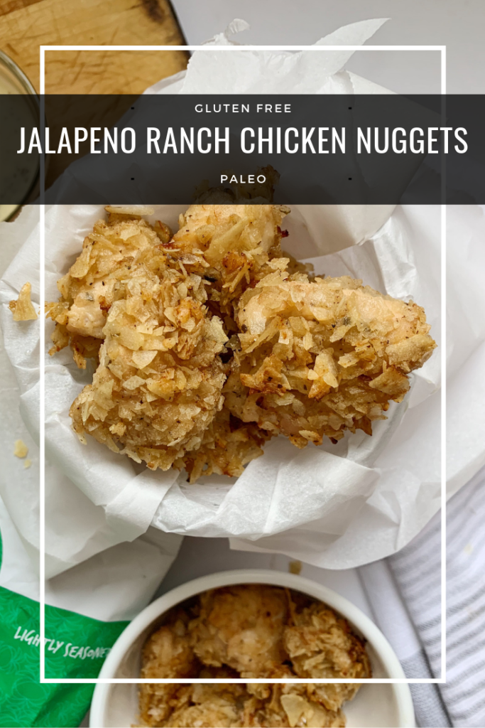jalapeno ranch chicken nuggets