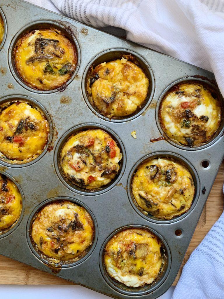 sausage egg cups