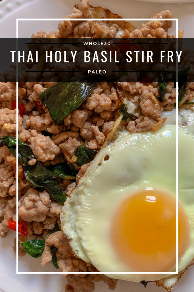 thai holy basil stir fry