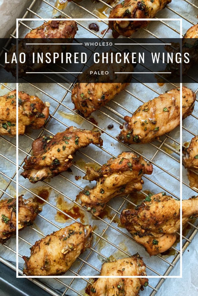 lao inspired chicken wings